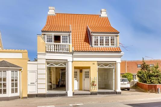 Villa på Sct. Laurentii Vej i Skagen - Facade