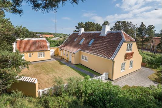 Villa på Drachmannsvej i Skagen - Ejendommen