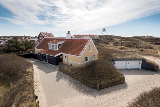Villa på Hans Ruths Vej i Skagen - Ejendommen