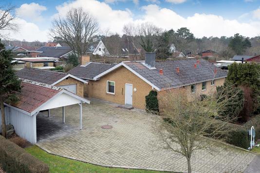 Villa på Nyvangsvej i Jerup - Ejendommen