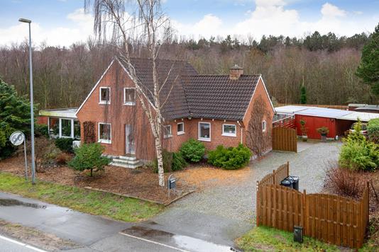 Villa på Skagensvej i Jerup - Ejendommen