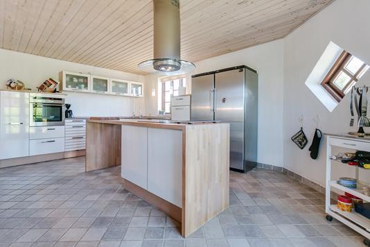 Villa på Vilhelm Becks Vej i Frederikshavn - Køkken