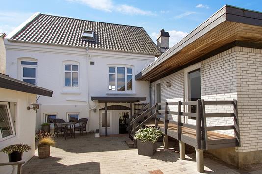 Villa på Gærumvej i Frederikshavn - Set fra haven