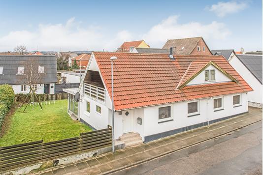 Villa på Munkegade i Frederikshavn - Mastefoto