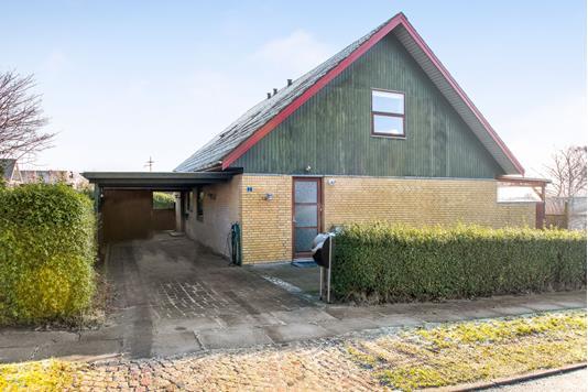 Villa på Haldbjergvej i Frederikshavn - Ejendommen