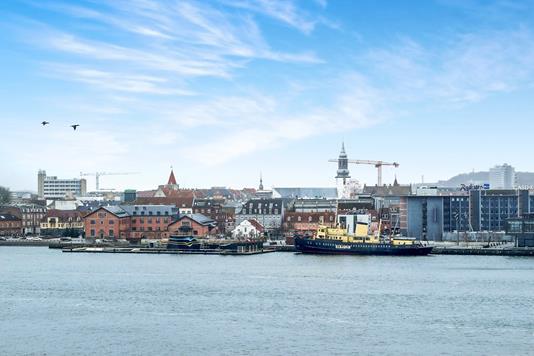 Ejerlejlighed på Havnegade i Nørresundby - Udsigt
