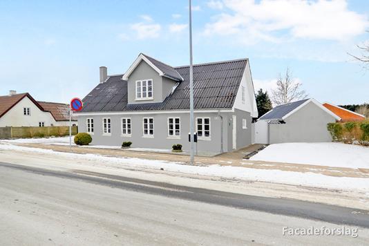 Villa på Søndergade i Hjallerup - Modelfoto