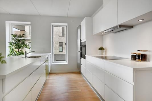 Ejerlejlighed på Skansehøj i Nørresundby - Køkken