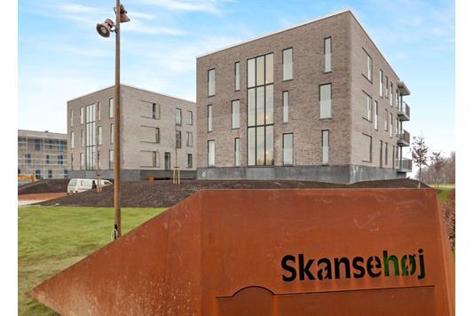 Ejerlejlighed på Skansehøj i Nørresundby - Facade