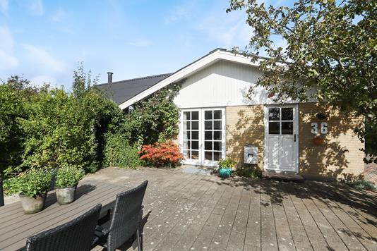 Villa på Enghaven i Aabybro - Terrasse