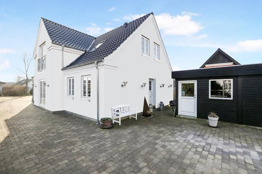 Villa på Kastanie Alle i Hjallerup - Modelfoto