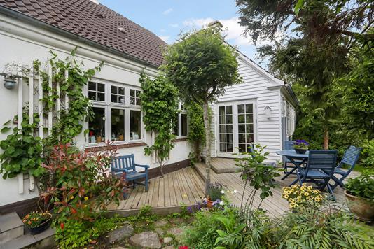 Villa på Niels Anesens Vej i Sulsted - Terrasse