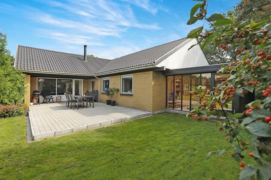Villa på Grønnegade i Hjallerup - Terrasse