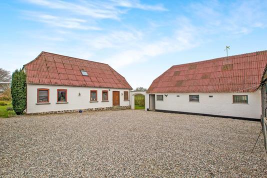 Landejendom på Vesterskovmark i Havndal - Ejendommen