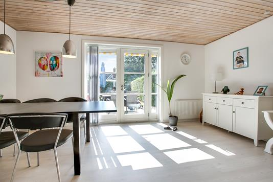 Villa på Stenfeldtsvej i Mariager - Stue
