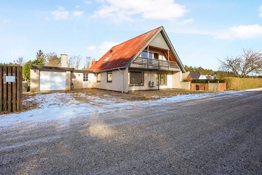 Villa på Nyvasen i Havndal - Ejendommen