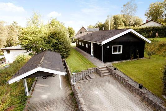 Villa på Jagtvej i Hadsund - Ejendommen