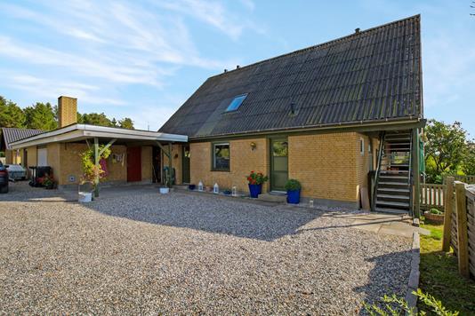 Villa på Havnøvej i Hadsund - Ejendommen