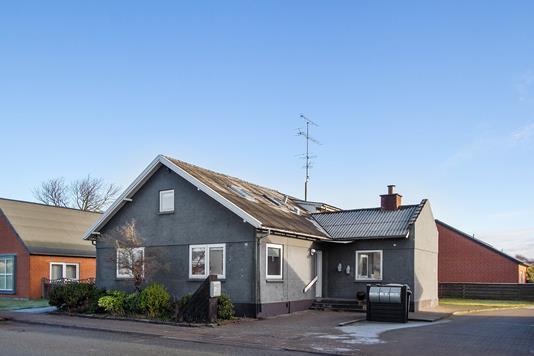 Villa på Nørregade i Sindal - Ejendommen