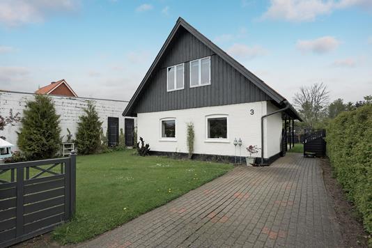 Villa på Nyvangen i Sindal - Ejendommen