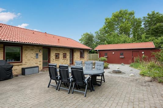 Villa på Lævej i Bindslev - Terrasse