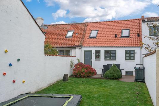 Villa på Børsen i Hjørring - Have