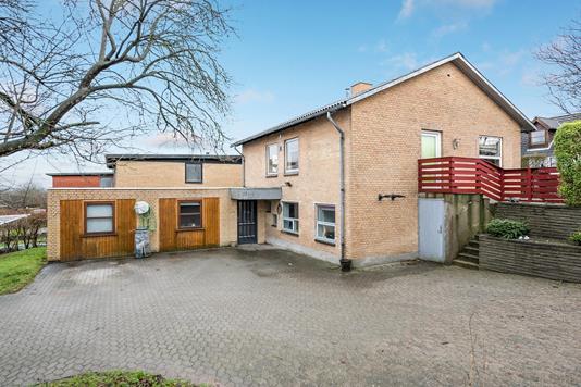 Villa på Skjoldborgsvej i Hjørring - Ejendommen