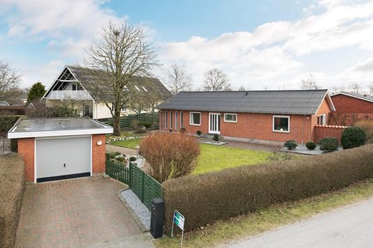 Villa på Vandværksvej i Bindslev - Ejendommen
