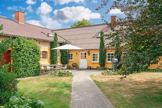 Villa på Solbakkevej i Bindslev - Ejendommen
