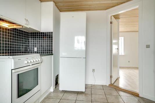Villa på Sæbyvej i Tårs - Køkken