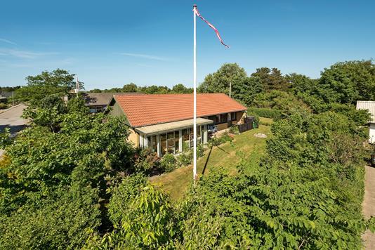 Villa på Kløvervej i Bindslev - Ejendommen
