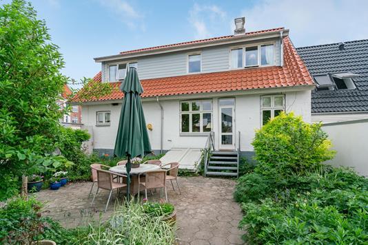 Villa på Christiansgade i Hjørring - Terrasse