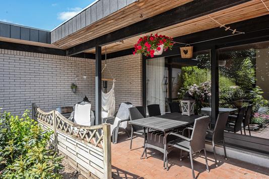 Villa på Vester Alle i Bindslev - Terrasse