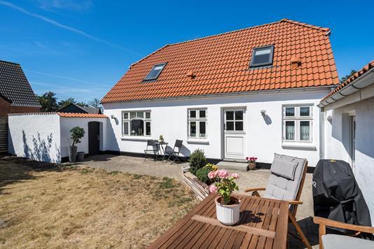 Villa på Løkkensvej i Løkken - Terrasse