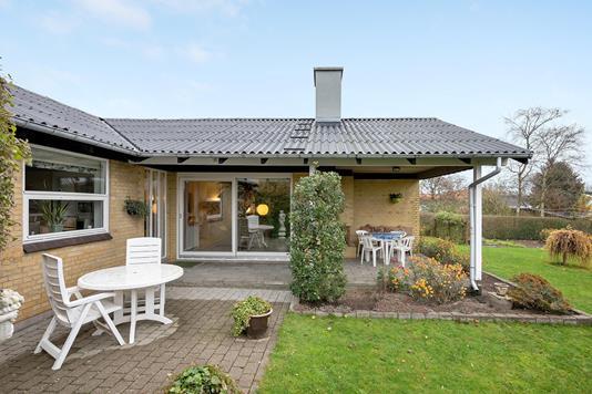 Villa på Erantisvej i Sindal - Terrasse