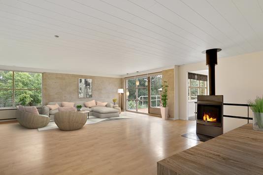 Villa på Urbakken i Aalborg SØ - Stue