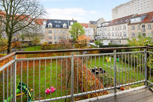 Ejerlejlighed på Knudsgade i Aalborg - Altan