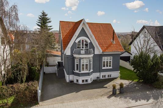 Villa på Hobrovej i Aalborg - Facade