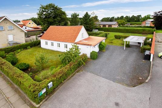 Villa på Søndergade i Farsø - Ejendommen