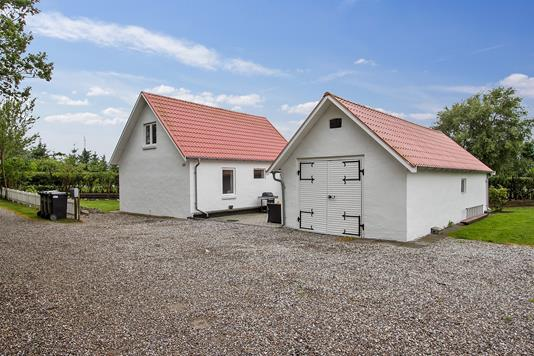 Villa på Aggersundvej i Aars - Ejendommen