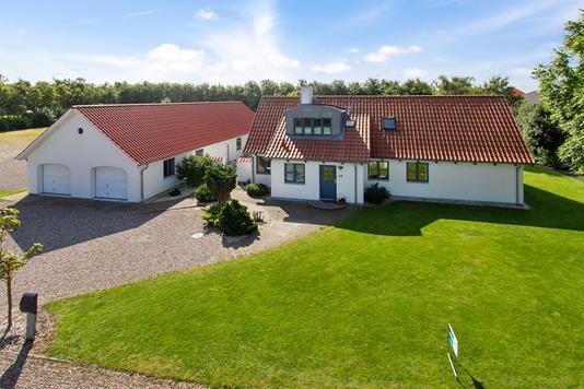 Villa på Vester Søttrup Vej i Aars - Ejendommen