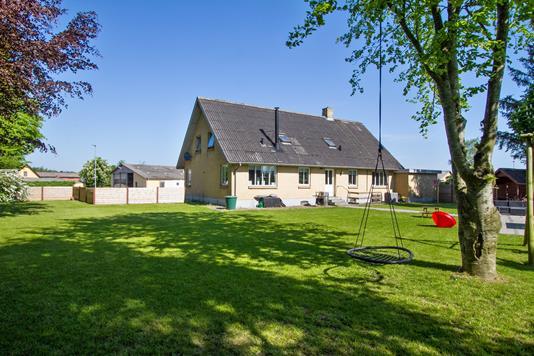 Villa på Søkrogen i Aalestrup - Set fra haven
