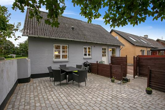 Villa på Aagade i Nibe - Terrasse