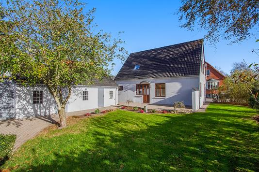 Villa på Højvang i Aars - Have