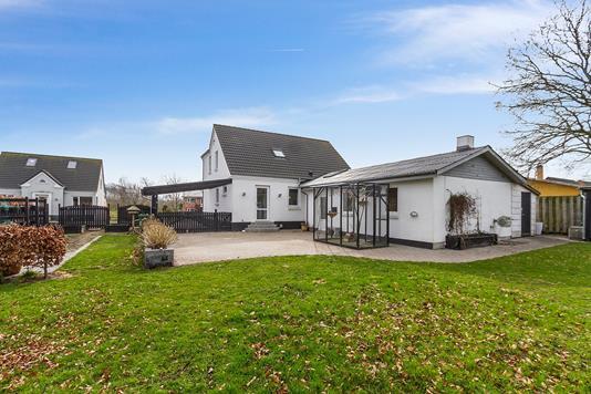 Villa på Nørregade i Aars - Have
