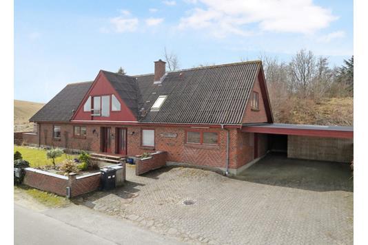 Villa på Bratbjerg i Brovst - Facade