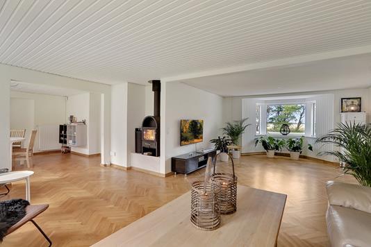 Villa på Faldborggade i Brovst - Stue