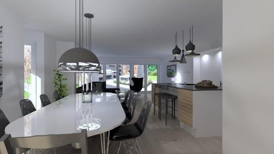 Villa på Syrenvej i Aabybro - Modelfoto