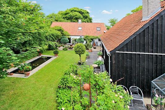 Villa på Fjordgade i Aabybro - Have