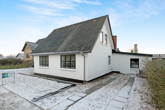 Villa på Aalborgvej i Brovst - Ejendommen